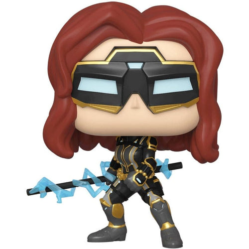 POP Marvel: Avengers Game - Black Widow (Stark Tec)