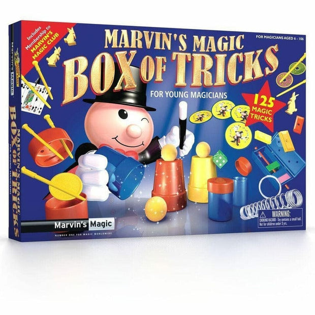 Marvin's Magic Magic Marvin's Magic Box of 125 Tricks