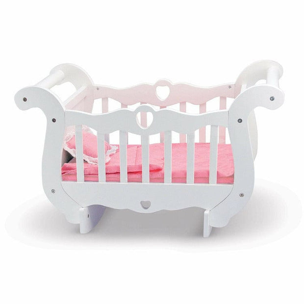 Melissa & Doug Dolls Wooden Doll Crib