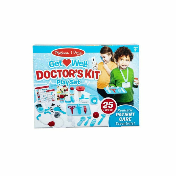 Melissa & Doug Preschool Get Well Doctor's Kit Play Set
