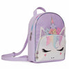 OMG Accessories Trend Accessories Miss Gwen Unicorn Flower Crown Perforated Mini Backpack