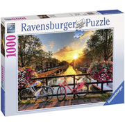 Ravensburger Puzzles Bicycles in Amsterdam 1000 Piece Puzzle