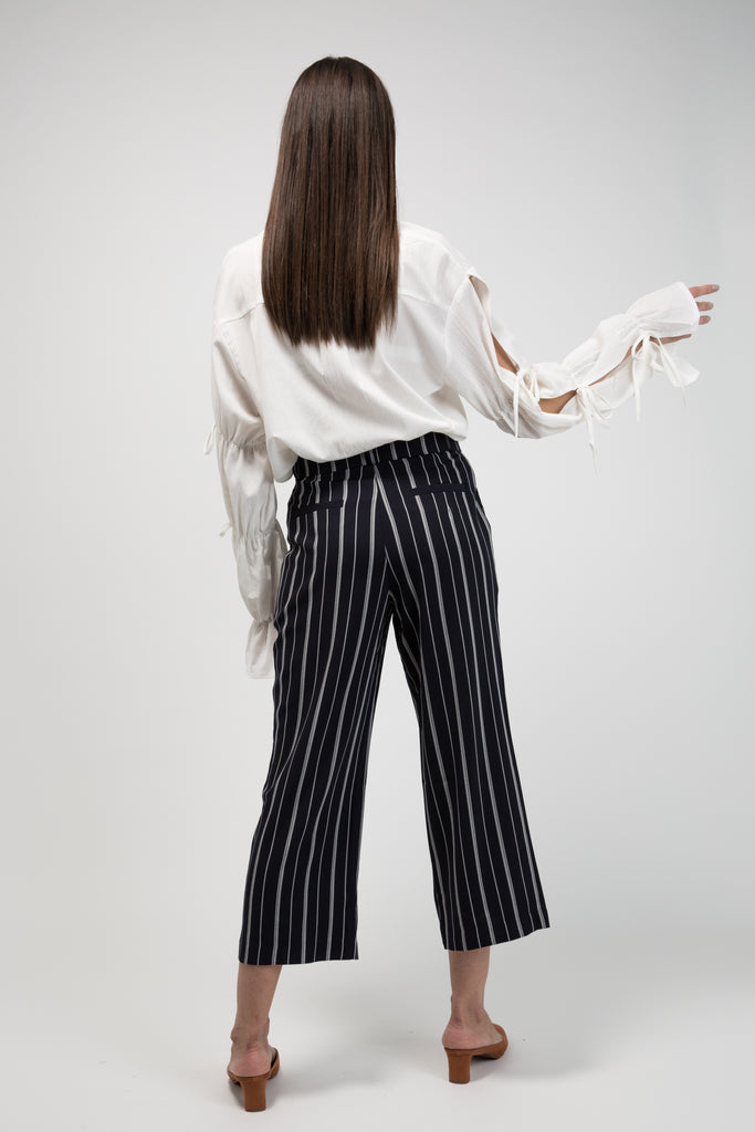 Pinstripe Pants Midnight