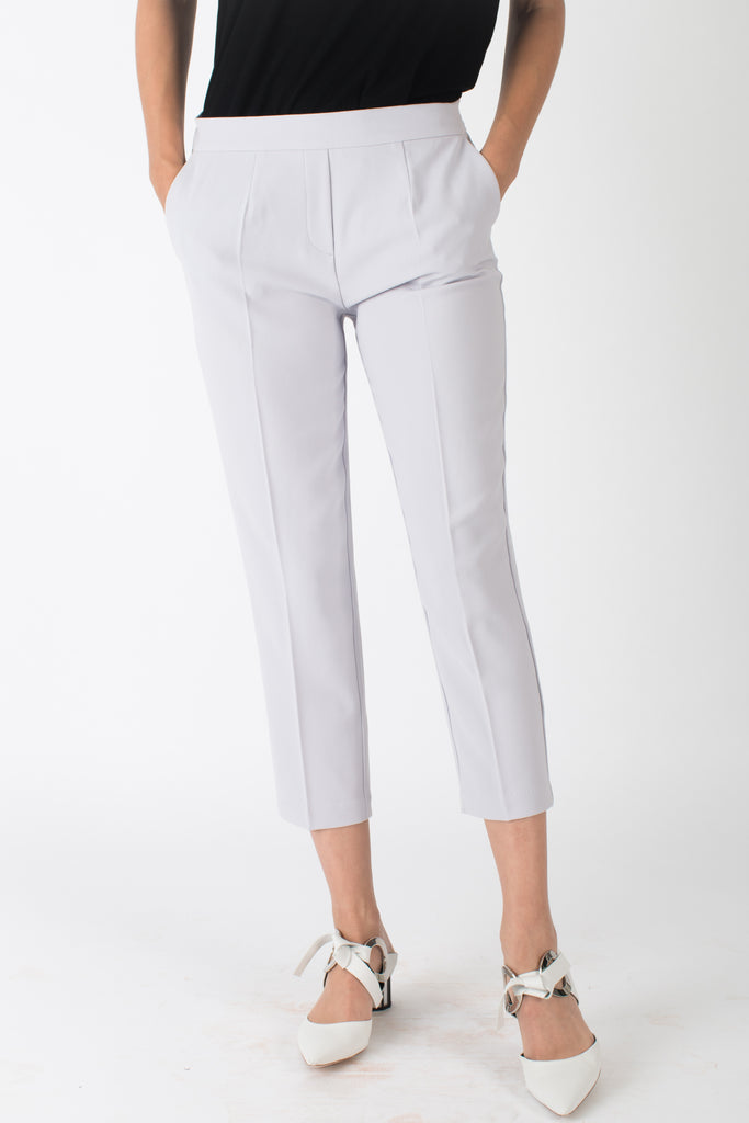 Noah Straight-Leg Pant Light Grey