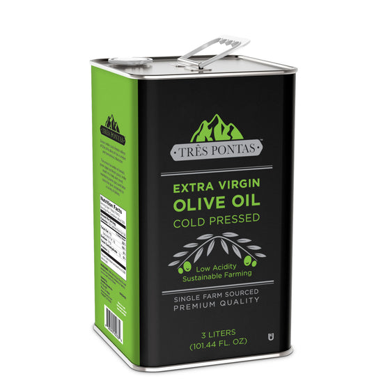 Três Pontas 3 Liter Tin Extra Virgin Olive Oil