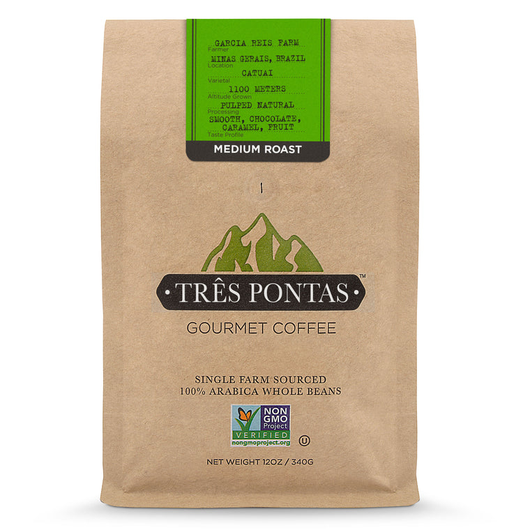 Três Pontas Coffee - Fresh Roasted - 12oz Bag