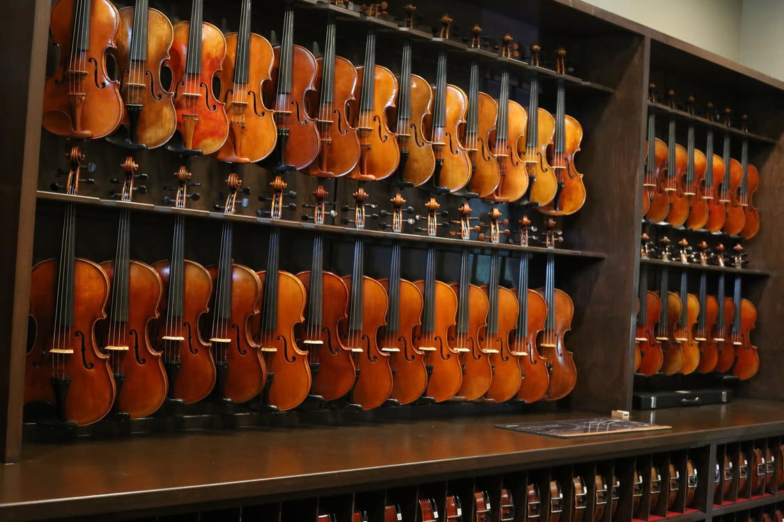 Finding the perfect instrument and how we can help you at Sam's Strings!