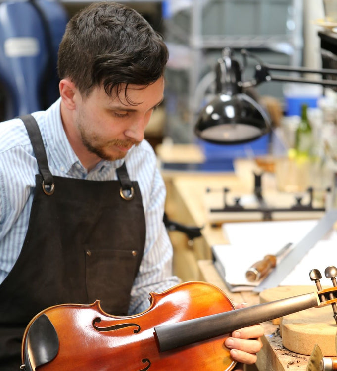 Introducing Zack Johnson - Violin luthier