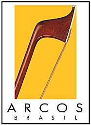 Arcos Brasil Cello Bow Silver Mounted