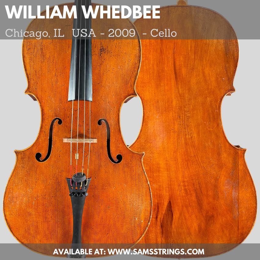 A fine modern cello by William Whedbee - 2009