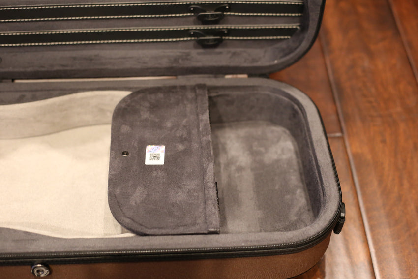 "Pedi ""Nite Flash"" Oblong 4/4 Violin Case"