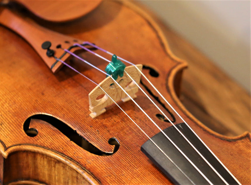 Wiessmeyer 3D Sound Viol-Shaped Mute for Violin