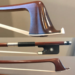 Marco Raposo - Nickel Mounted Cello Bows