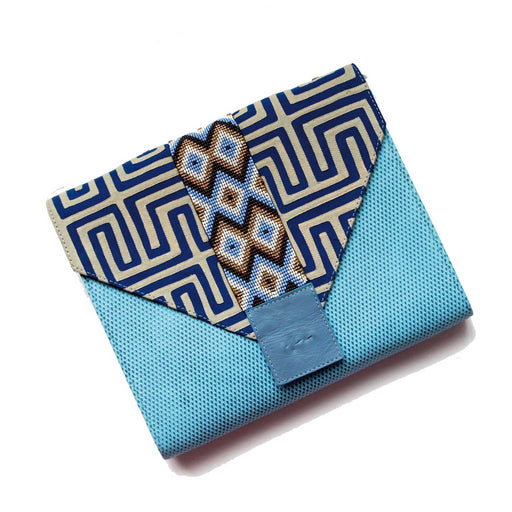 Mix&Match Blue Calm Clutch