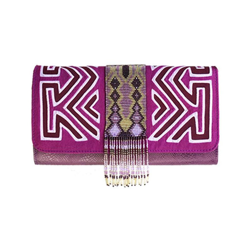 Pachanabba Magenta Clutch