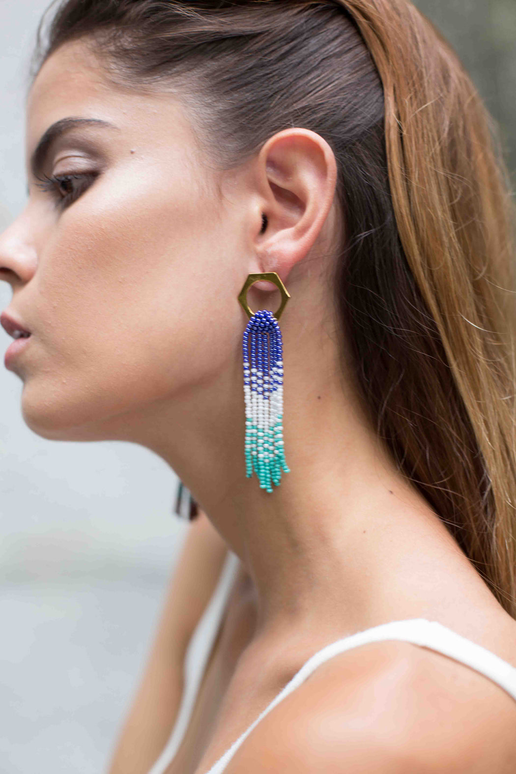 Rainbow Rombo Earrings