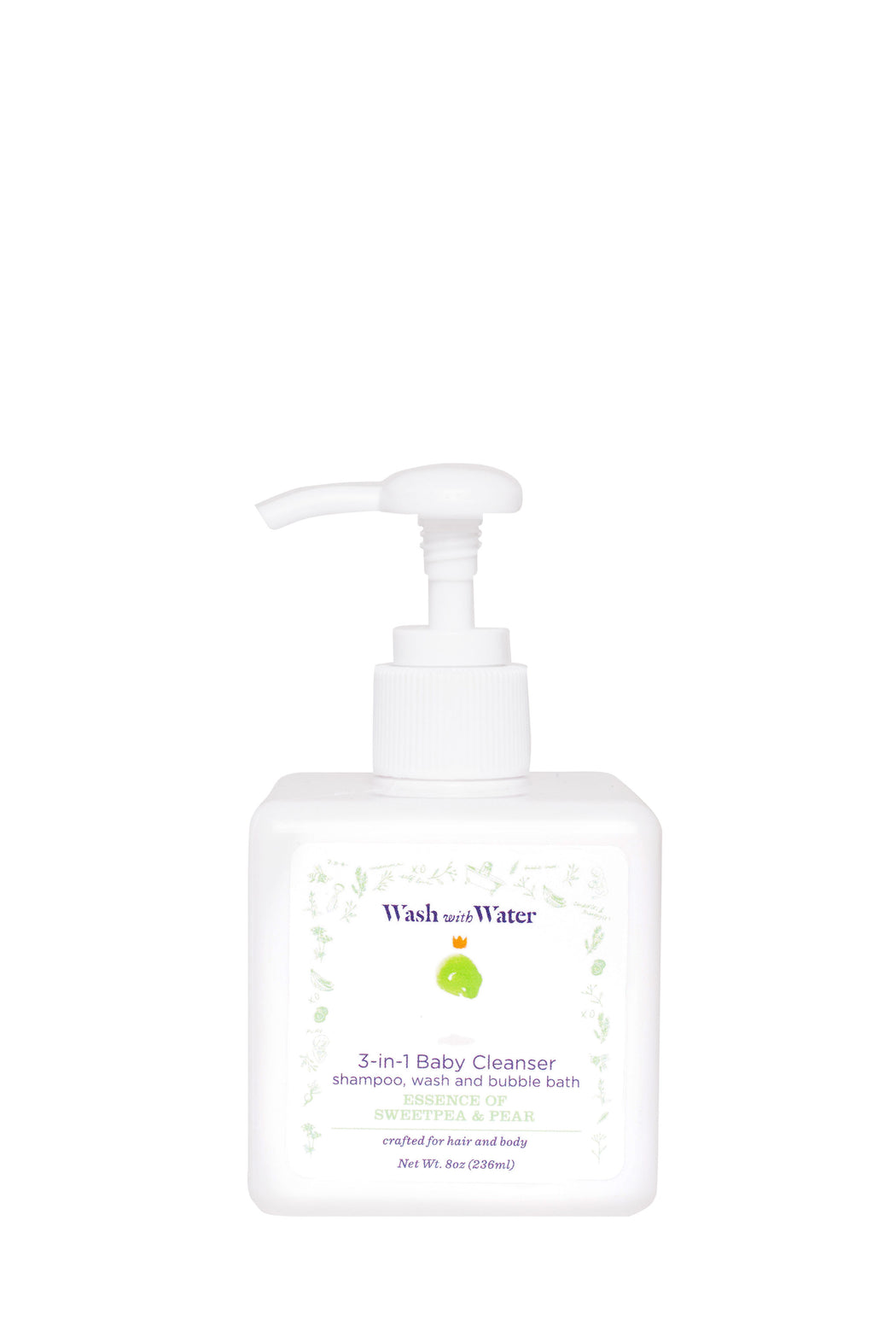 CBD 3-in-1 baby cleanser
