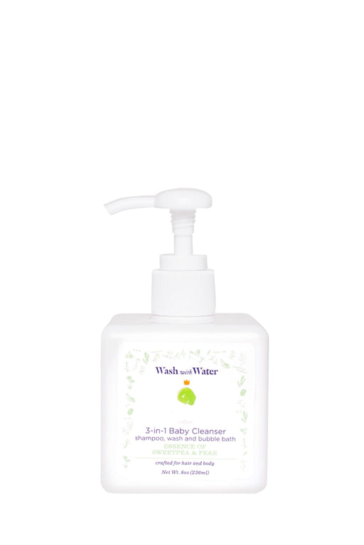 3-in-1 Sweetpea and Me baby cleanser