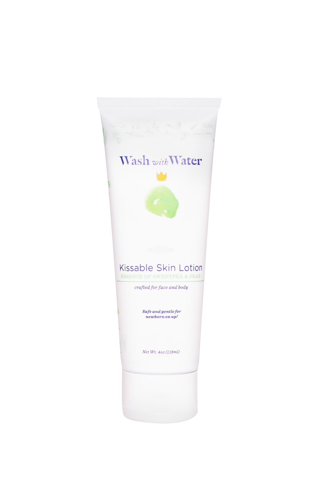 Sweetpea and Me Kissable Skin lotion