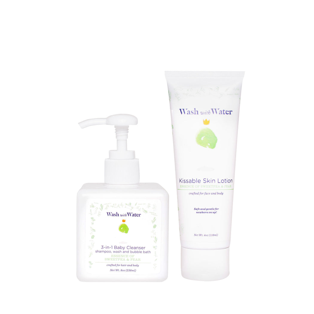 Sweetpea and Me soft skin Bundle