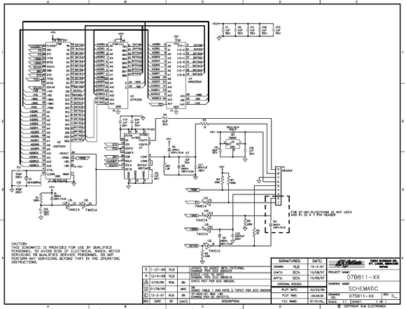 COBRA TO Cybernet 81101H5 Schematics