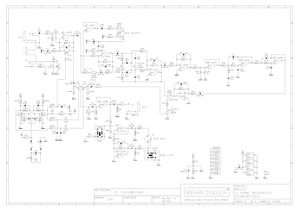 BEHRINGER ADI21 V-tone Acoustic Schematic – Electronic ... on