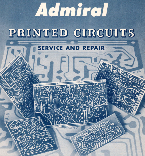 Admiral Printed Circuits Repair Service Manual