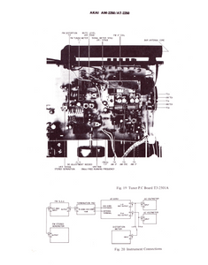 AKAI Model AM-2250 and AT-2250 Schematics