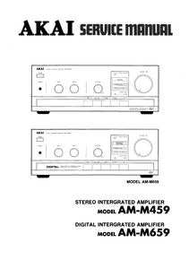 AKAI AM-M459_M659 Service Manual