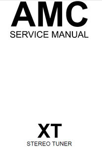 AMC XT Stereo Tuner Service Manual