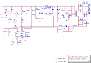 AMC AOC-PWPC5215A1 Inverter Schematics