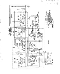 AKAI AP-Q310C Quarts Full Auto Turntable Schematic
