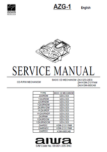 AIWAAZG-1.5 Service Manual