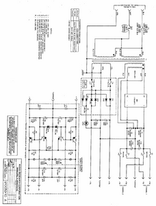 AUDIO RESEARCH D-100B Power Supply Schematics