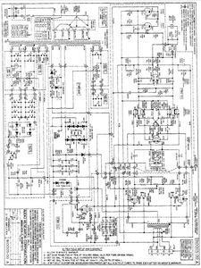 AUDIO RESEARCH D-76A Amplifier Schematics