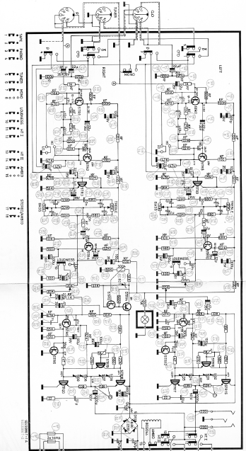 B.O Beolab 1700 Schematic