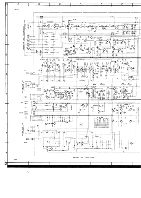 AKAI CS-F12 Schematics