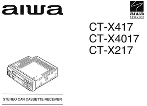 AIWA CT-X417 Car Cassette Receiver  Schematics