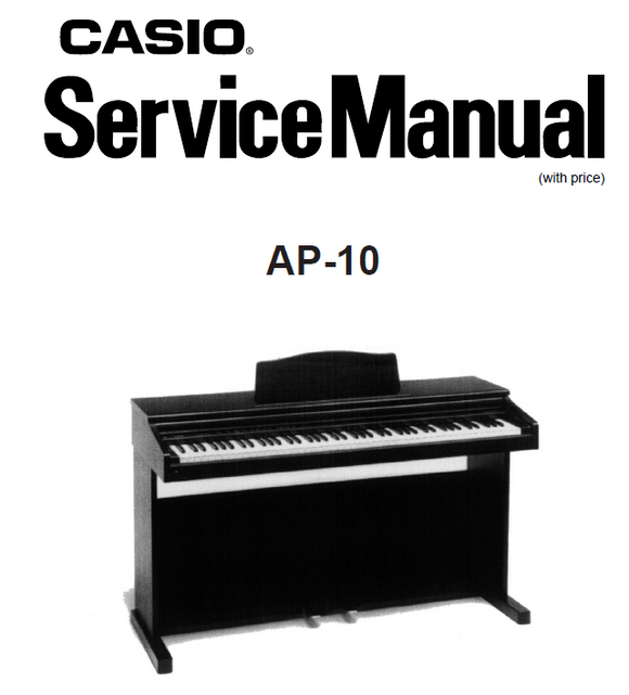 Casio AP-10 Service Manual