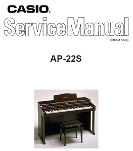 Casio AP-22S Service Manual