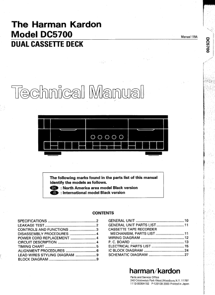 Dual Service Manuals – Electronic Service Manuals