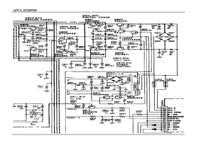 AIWA DXM90M Power Supply Schematic