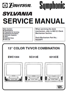 Emerson EWC-1304 Service Manual