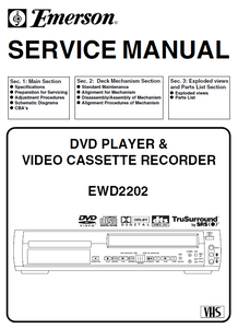 Emerson EWD-2202 Service Manual