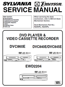 Emerson EWD-2204 Service Manual