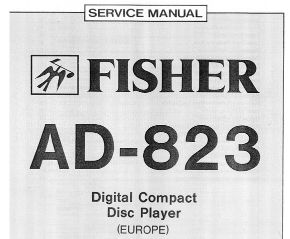 Fischer AD823 Service Manual