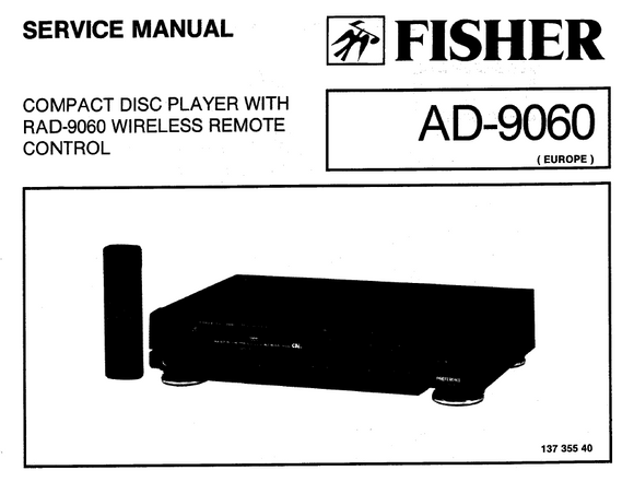 Fischer AD9060 Service Manual