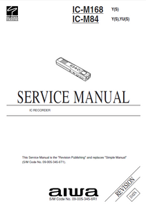 AIWA IC-M168 Revision Service Manual