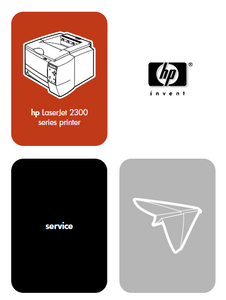 Hewlett Packard LaserJet 2300 series printer Service Manual