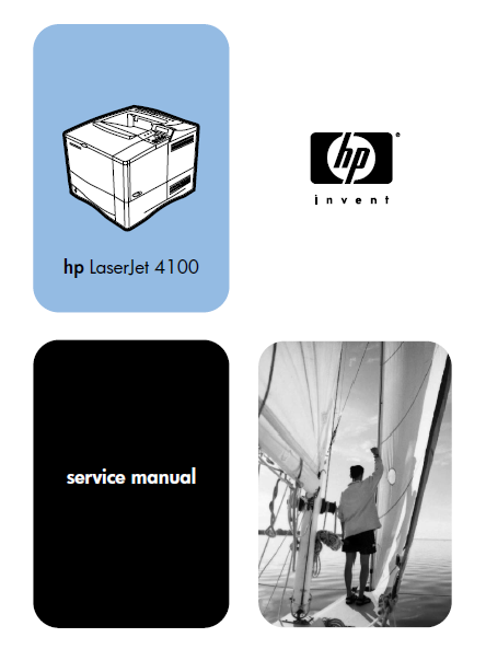 Hewlett Packard LaserJet 4100 Service Manual